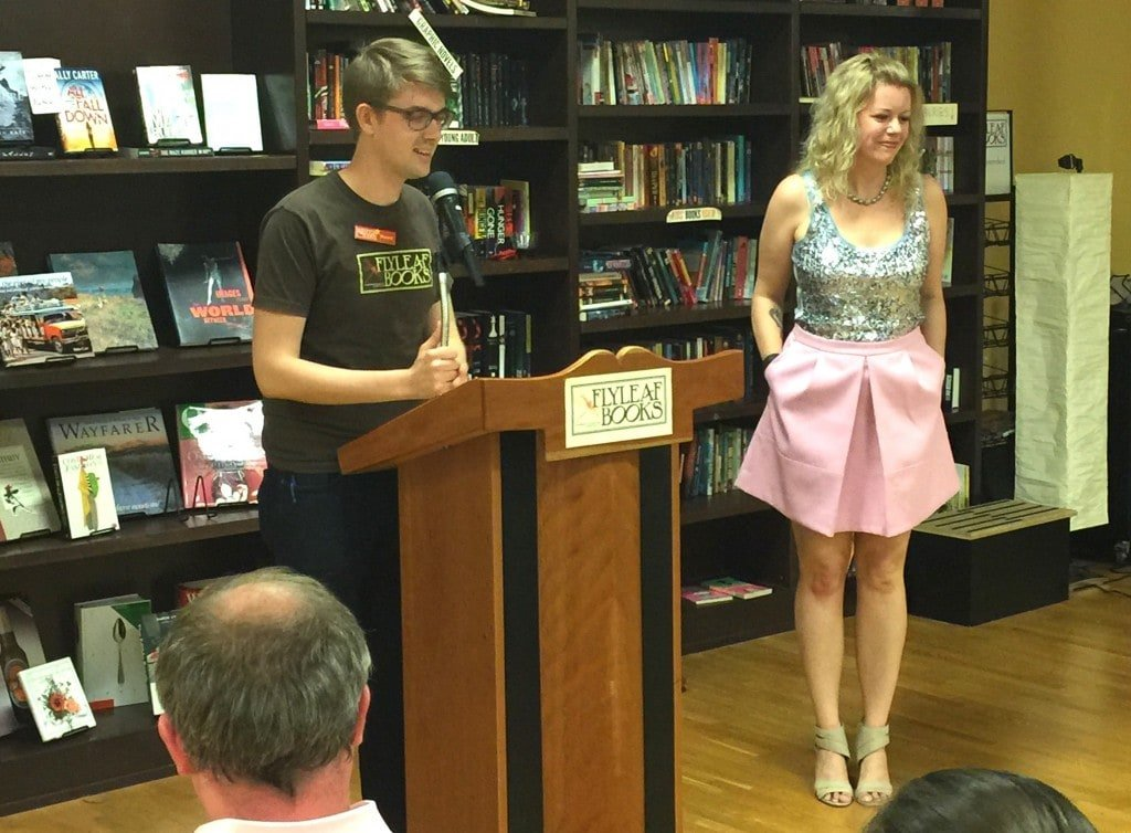 The Flyleaf bookseller introducing Katie