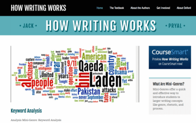 How Writing Works Website
