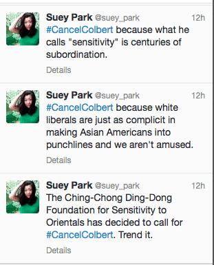 suey tweets