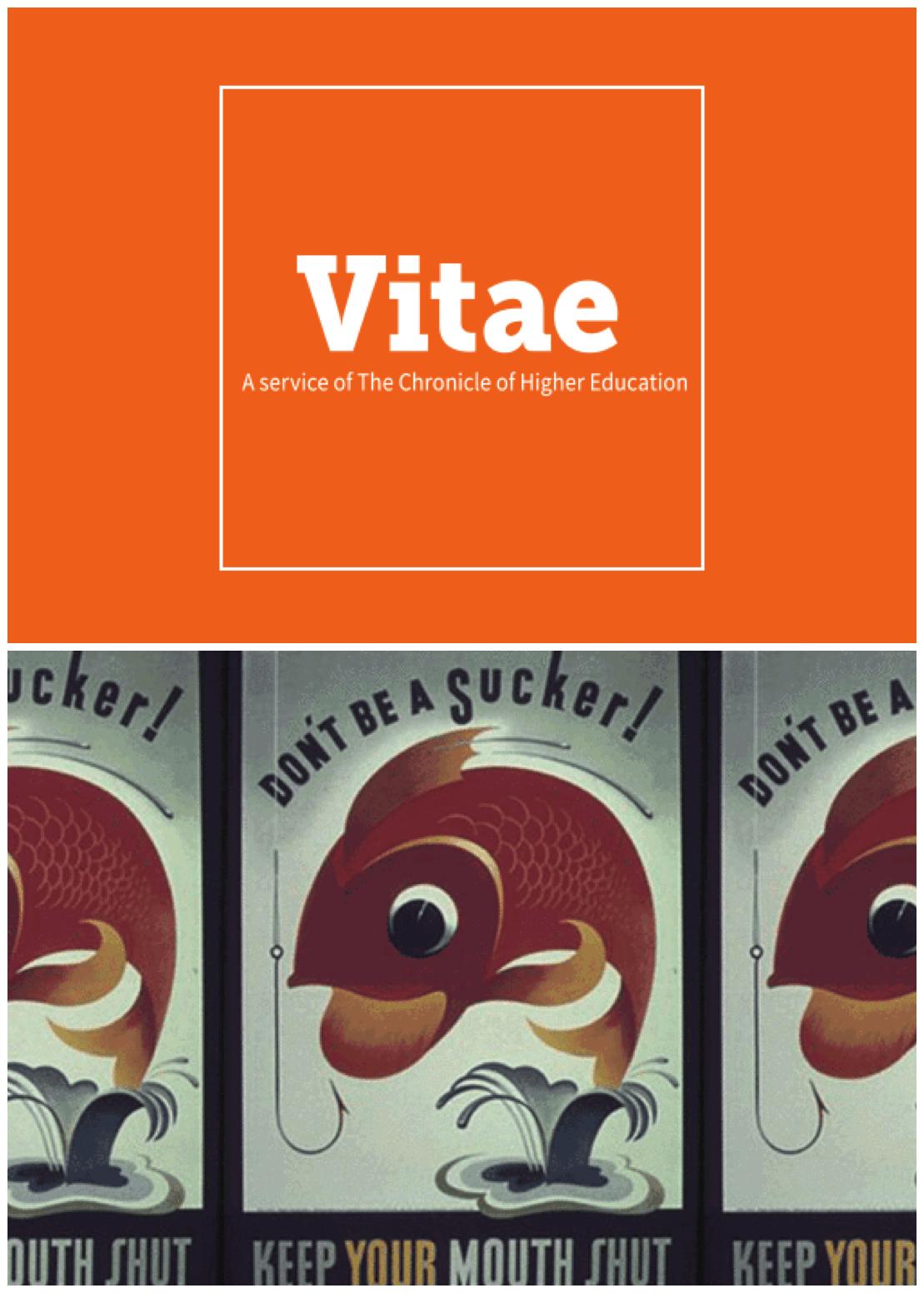 Chronicle Vitae: Speaking Up in Academe