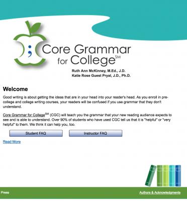 Core Grammar for College