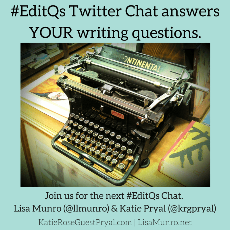 Introducing: #EditQs Twitter Chat