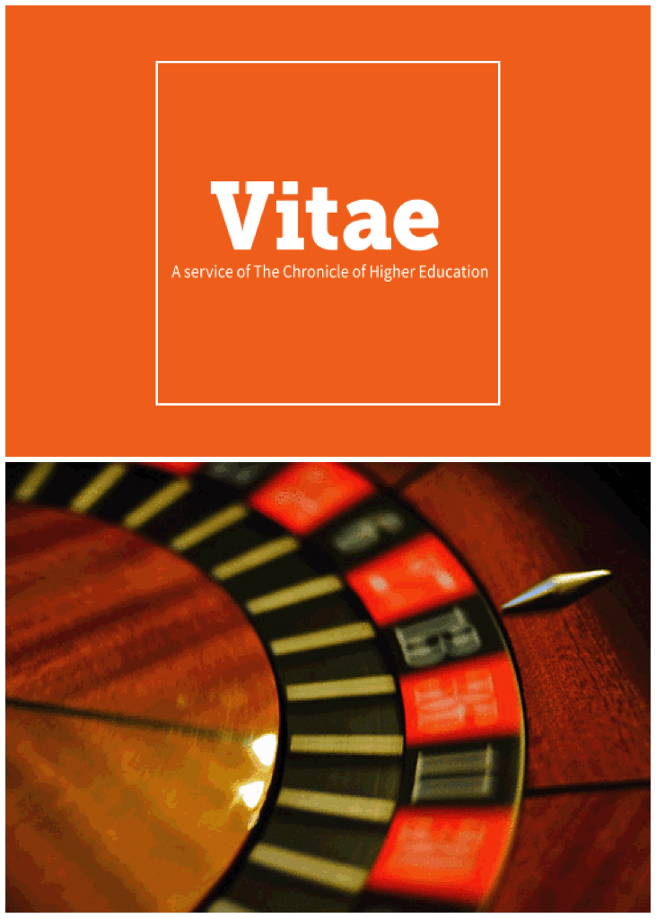 "Chronicle Vitae: The Trouble with the ""No Matter What"" Rule"