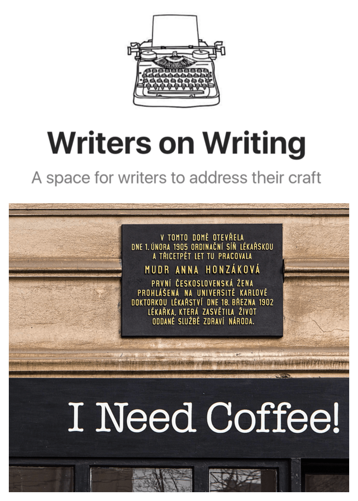 Writers on Writing @ Medium: I Need Coffee: How to Create an Author Newsletter That Isn't Terrible