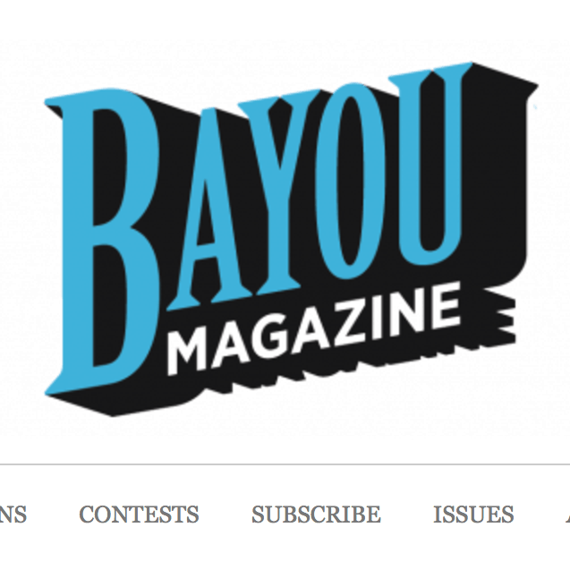 Bayou Magazine: Why Birds Have Wings (Fiction)