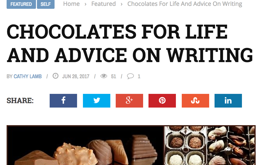 Interview in Ms. Career Girl: Chocolates for Life and Advice on Writing