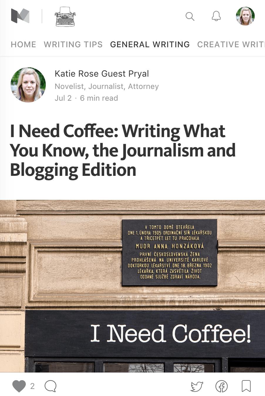 Writing | Katie Rose Guest Pryal