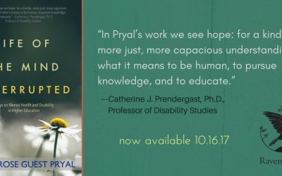 Book Launch Day: LIFE OF THE MIND INTERRUPTED