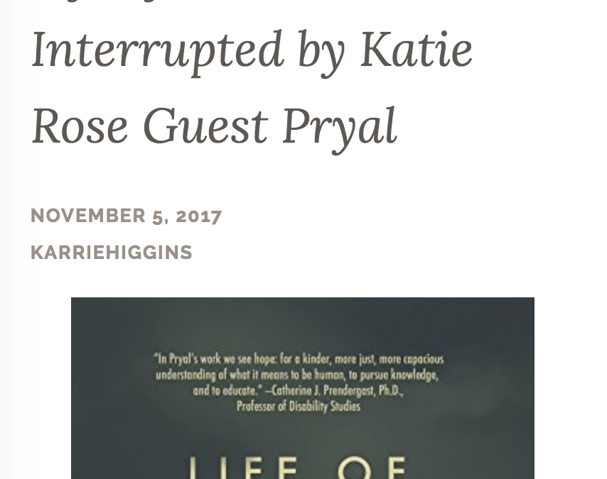 Author Karrie Higgins: Review of LIFE OF THE MIND INTERRUPTED