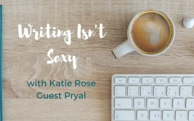 """New column for Katie: """"Writing Isn't Sexy: Dog Poop and All"""""""