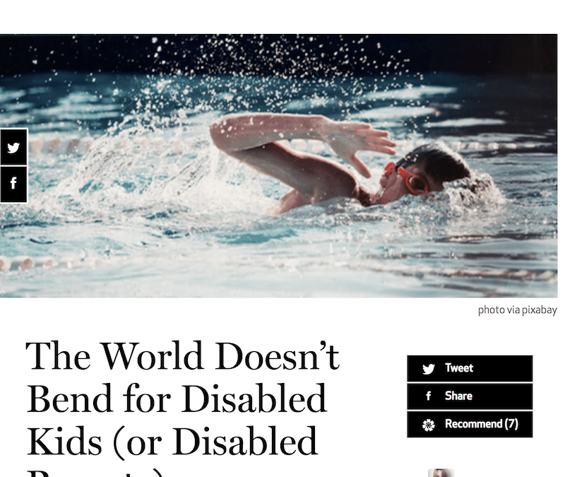 Catapult: The World Doesn't Bend for Disabled Kids (or Disabled Parents)