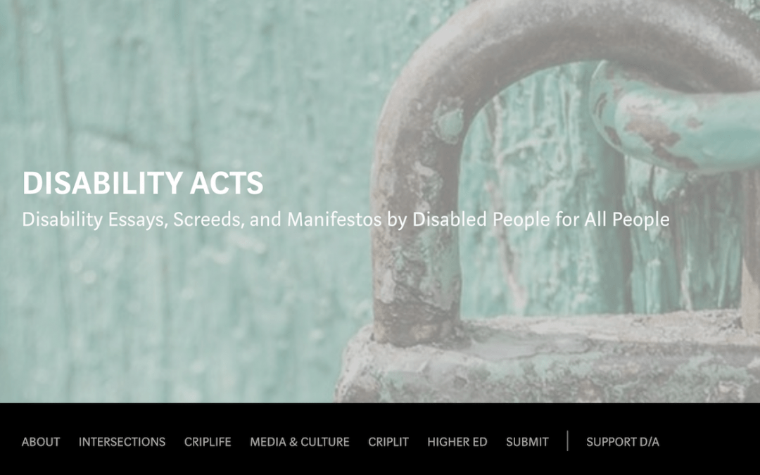Disability Acts Cover Banner