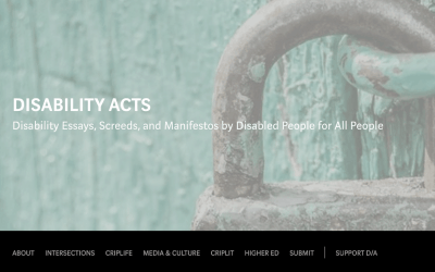 New Project: DISABILITY ACTS Magazine