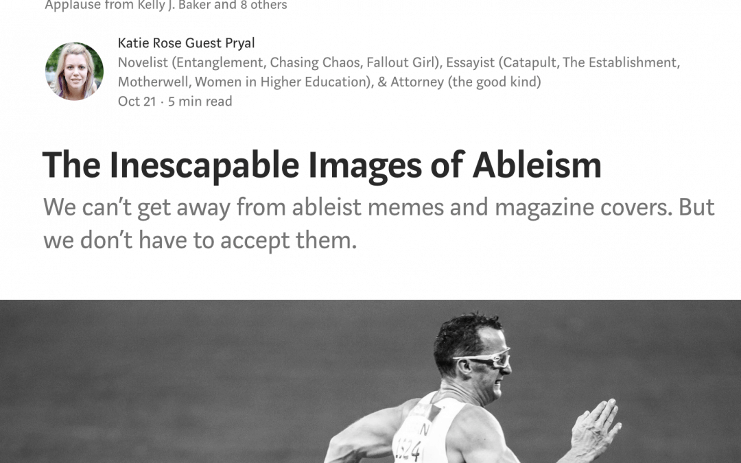 Disability Acts: The Inescapable Images of Ableism