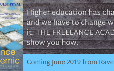 New Book Coming: THE FREELANCE ACADEMIC