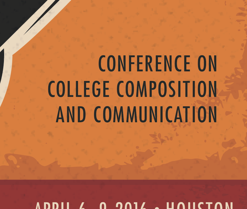 "Conference on College Composition and Communication: ""Writing For Action: A Crash Course in Journalism Genres."""