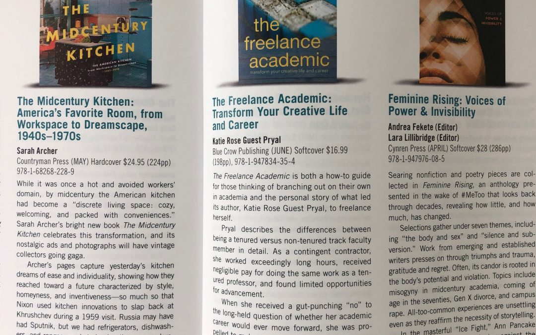 Foreword Magazine: Review of THE FREELANCE ACADEMIC
