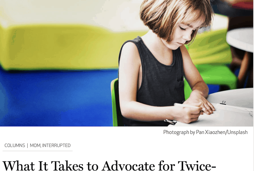 Catapult: What It Takes to Advocate for Twice-Exceptional Kids in School