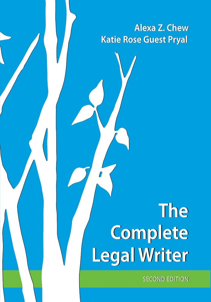The Complete Legal Writer Cover