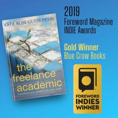 The Freelance Academic wins the INDIES Gold medal